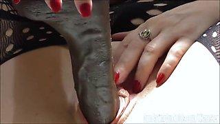 jada coxx big black dildo