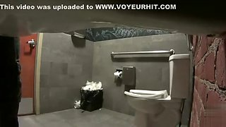 Real women pee in toilet secret cam video