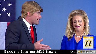 two of the biggest candidates having sex for the good of america