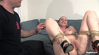 Lady Kat in Amateur Casting Couch 15:  Hot Weather, Hot Slut, Hot Orgasms - HogTied