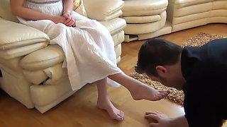 Findom Feet Worship Greek Goddess Slaves