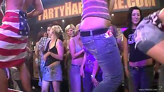 horny strippers have sex with drunk babes