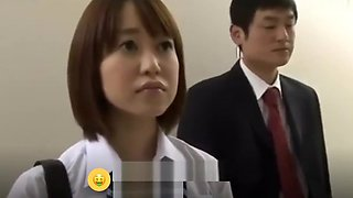 Asian student stuck in elevator and forced fucked Part.1 - [Gagne de l&#039_argent sur Internet : HOLYCASH.FR]