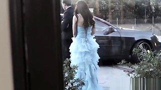 Taboo prom queen jizzed