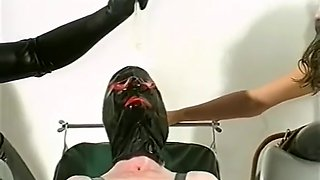 vintage rubber sex games with slaveboy slavegirl mistress
