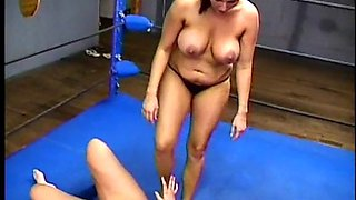 Chubby girl gets dominated