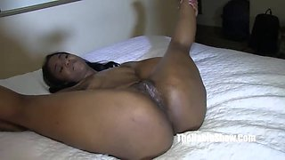 oiled up phat booty blu texas swallow bb