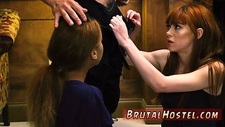 Hard bondage squirt Sexy young girls Alexa Nova and Kendall Woods take a trainride to