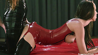 Jane   Lesbian Lust in Lubed Latex