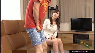 retard son wants to fuck sexy japanese babysitter