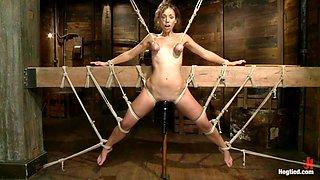 Extreme Bondage And Punishment With Audrey Rose