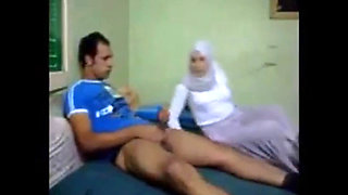 Fucking His Arab Gf In Ass