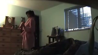 Hidden cam in the bedroom catches my wife cheating on me