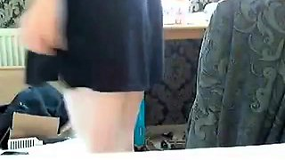 Redhead  teen masturbaing