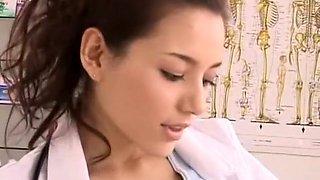 Fabulous Japanese girl in Exotic Nurse, CFNM JAV video