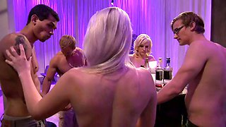 the wicked women have fun in the mansion Foursome