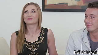 Hot Wife Luca Bella Screwed by a Stud as Her Wimpy Husband Watches