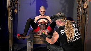 Veggie Orifice Stuffed sex slave part 1