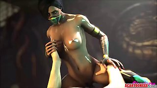 Hot mortal kombat sex compilation with hot 3d babes