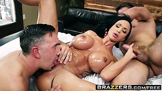 Brazzers - Dirty Masseur - My Two Fuck Boys s