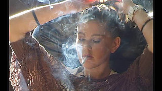 Young Girls Just Smoking