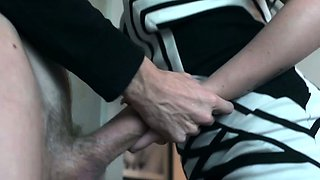 Chubby british housewife fucked in kitchen