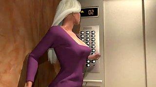 Haunted elevator