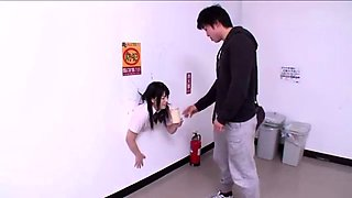 Helpless Japanese cutie getting pounded hard and creampied