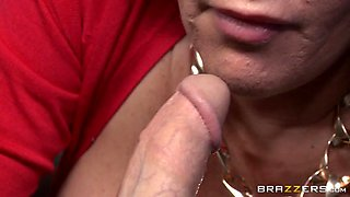 dayton rains pulled out his big cock and shoved it in her mouth