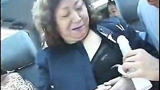 Granny asians in bus Moira from 1fuckdatecom