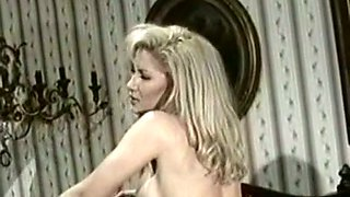 Two hot blonde milf babes finally pick dildos for action