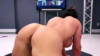 Lesbians Fucking After Wrestling Match