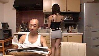 Hottest Japanese chick Rino Akane, Nao Niigaki, Natsumi Horiguchi in Crazy Cunnilingus, Blowjob JAV scene