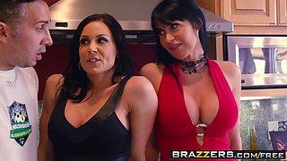 Brazzers - Mommy Got Boobs - Soccer Moms Suck scene starring Eva Karera Kendra Lust Vanilla Deville