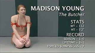 Nude wrestling - hot sex!