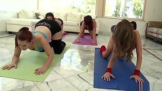 gym girls workout