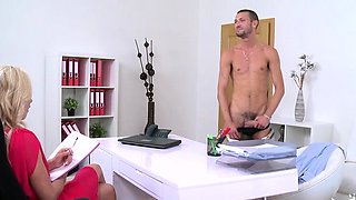 Italian pornstar casting and cumshot