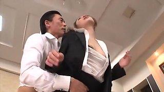 Incredible Japanese model Akari Kobayashi in Horny Office JAV video