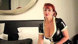 British milf redhead maid