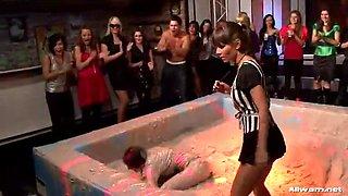 mud wrestling insanity